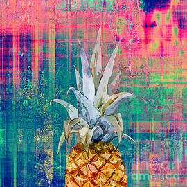 Pineapple In Hard by Mark Ashkenazi