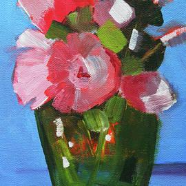 Pink and Blue by Nancy Merkle