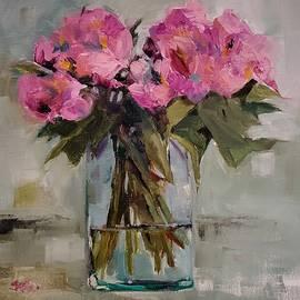 Pink Azaleas by Sheila Romard