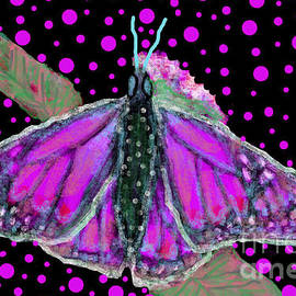 Pink Butterfly by Bradley Boug