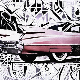 Pink Cadillac by Susan Maxwell Schmidt