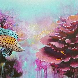 Pink Corals by Eugene Rubuls