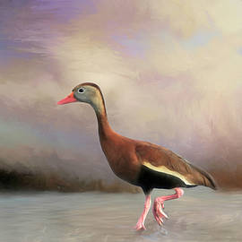 Pink Feet by Donna Kennedy