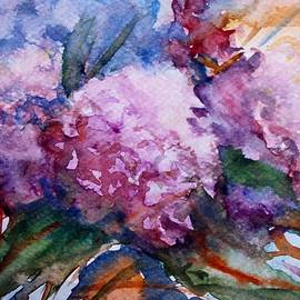 Pink hydrangeas by Vesna Martinjak
