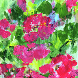 Pink Roses by Haleh Mahbod