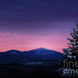 Pink Sky Mt Blue by Alana Ranney