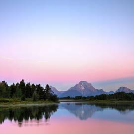 Pink Sunrise by Alex Nikitsin