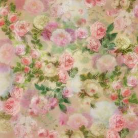 Pink Vintage Garden by Isabella Zietsman