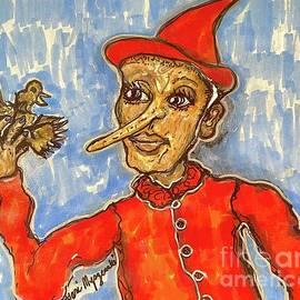 Pinocchio  by Geraldine Myszenski
