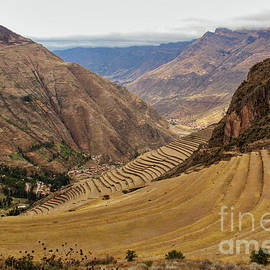 Pisac Terraces by Michelle Tinger