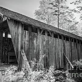 Pisgah Historic Bridge bw by Dan Carmichael