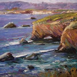 Pismo Beach on a perfect day by R W Goetting