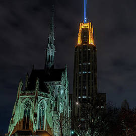 Pitt Victory Lights by Fort Frick Photography