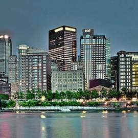 Pittsburgh The Steel City in Pano Form by Frozen in Time Fine Art Photography