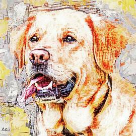 Playful Pup by Tina LeCour