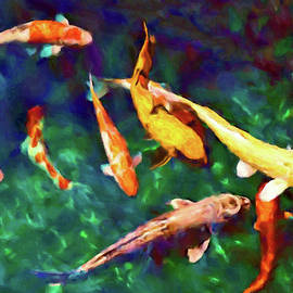 Playing Koi by Susan Maxwell Schmidt