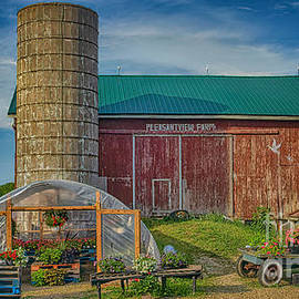 Pleasant View Farm by Janice Pariza