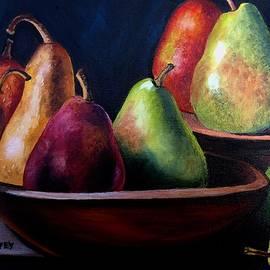Plump Pears by Julie Brugh Riffey