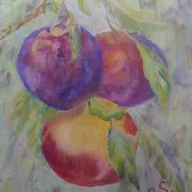 Plums by Irina Stroup