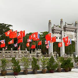 Po Lin Monastery, Lantau Island, Hong Kong by Paul Thompson
