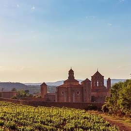 Poblet Monastery and landscape, Catalonia, Spain by Tatiana Travelways