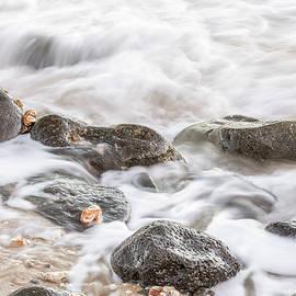 Pohakupule Beach Series I by Ann Skelton