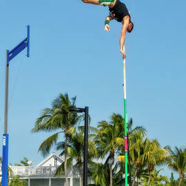 Pole Vaulting In Paradise by Kay Brewer