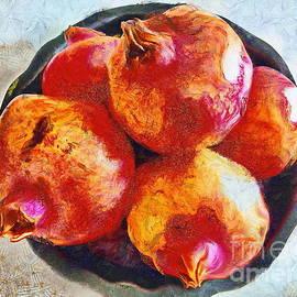 Pomegranates by Yorgos Daskalakis