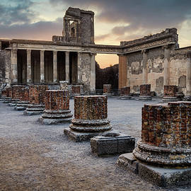 Pompeii Pillars by Dave Bowman
