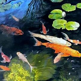 Pond Life by Norlina Kelly
