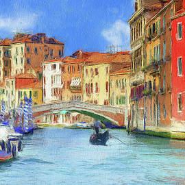 Ponte delle Guglie, Venice by Robert Deering