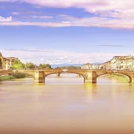 Ponte Santa Trinita, Florence by Slawek Aniol