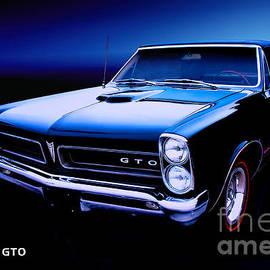Pontiac GTO 1965 by Thomas Burtney