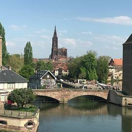 Ponts Couvets covered bridges La Petite France Strasbourg by Robin Daughrity