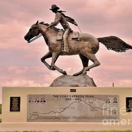 Pony Express Trail by Suzanne Wilkinson