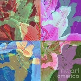 Pop Art - Lilies by Miriam Danar