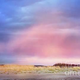 Popham Beach at Sunset by Anita Pollak
