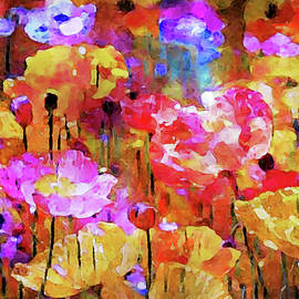Poppies in the Meadow by Susan Maxwell Schmidt