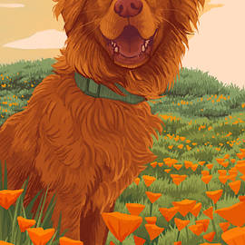 Poppy Pup by Jessica Greving