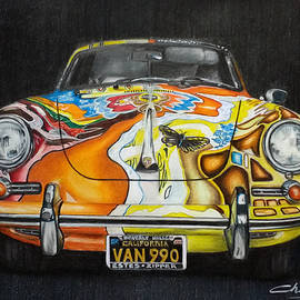 Porsche 356 C 1600 by Nicky Chiarello