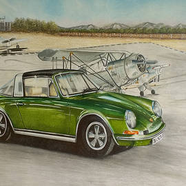 Porsche 911 Targa by Nicky Chiarello