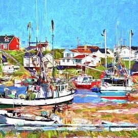 Port au Choix Harbor Newfoundland Impression by Tatiana Travelways