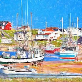 Port au Choix harbor Newfoundland by Tatiana Travelways