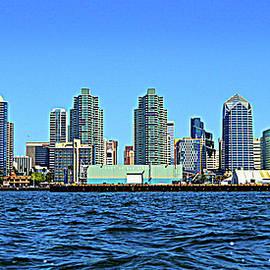 Port Of San Diego Skyline by Glenn McCarthy Art and Photography