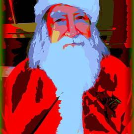Portrait Of Santa by Ed Weidman