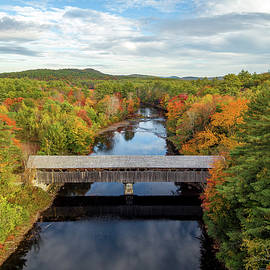 Porter-Parsonsfield Covered Bridge by Shared Perspectives Photography