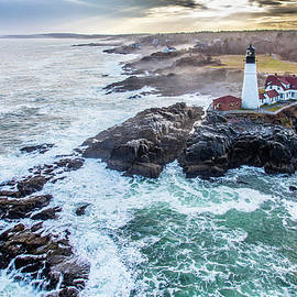 Portland Head after the Storm by Dave Cleaveland