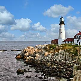 Portland Head Lighthouse 1 by Marcia Colelli