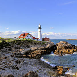 Portland Head Lighthouse by Samuel Abrahamson
