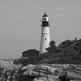 Portland Lighthouse, Cape Elisabeth, ME by Adam Gladstone